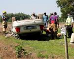 Driver Taken To Hospital After Grantham Area Crash (PHOTOS)