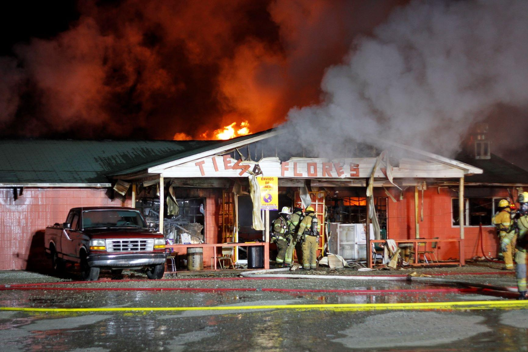 Fire Rips Through Country Store (PHOTO GALLERY)
