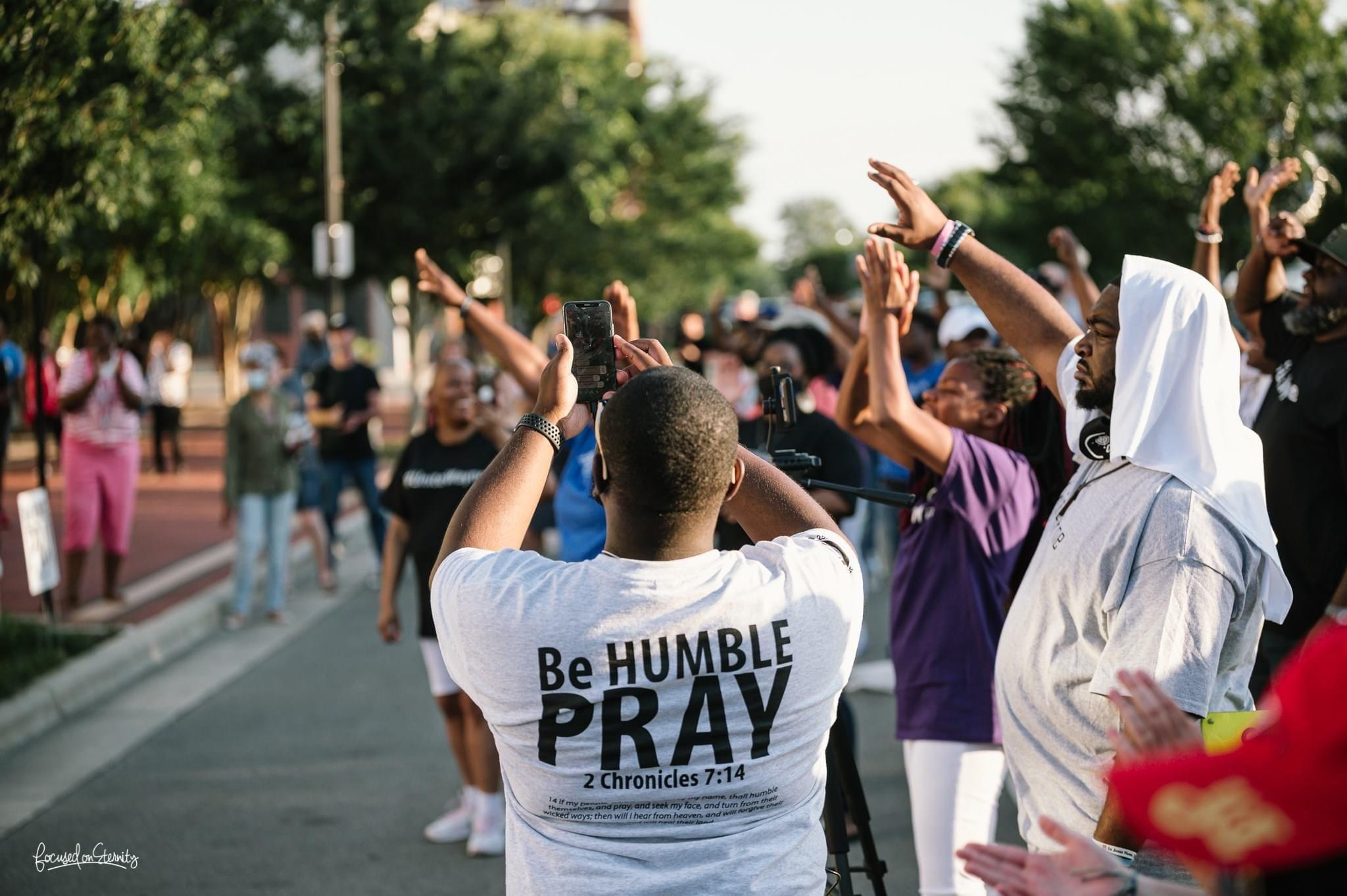 Prayer Rally At Goldsboro City Hall (PHOTO GALLERY)