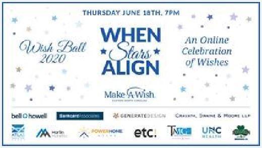 Make-A-Wish Eastern NC Announces Virtual Fundraiser