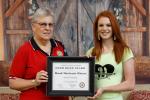 American Legion Auxiliary Awards Hinson