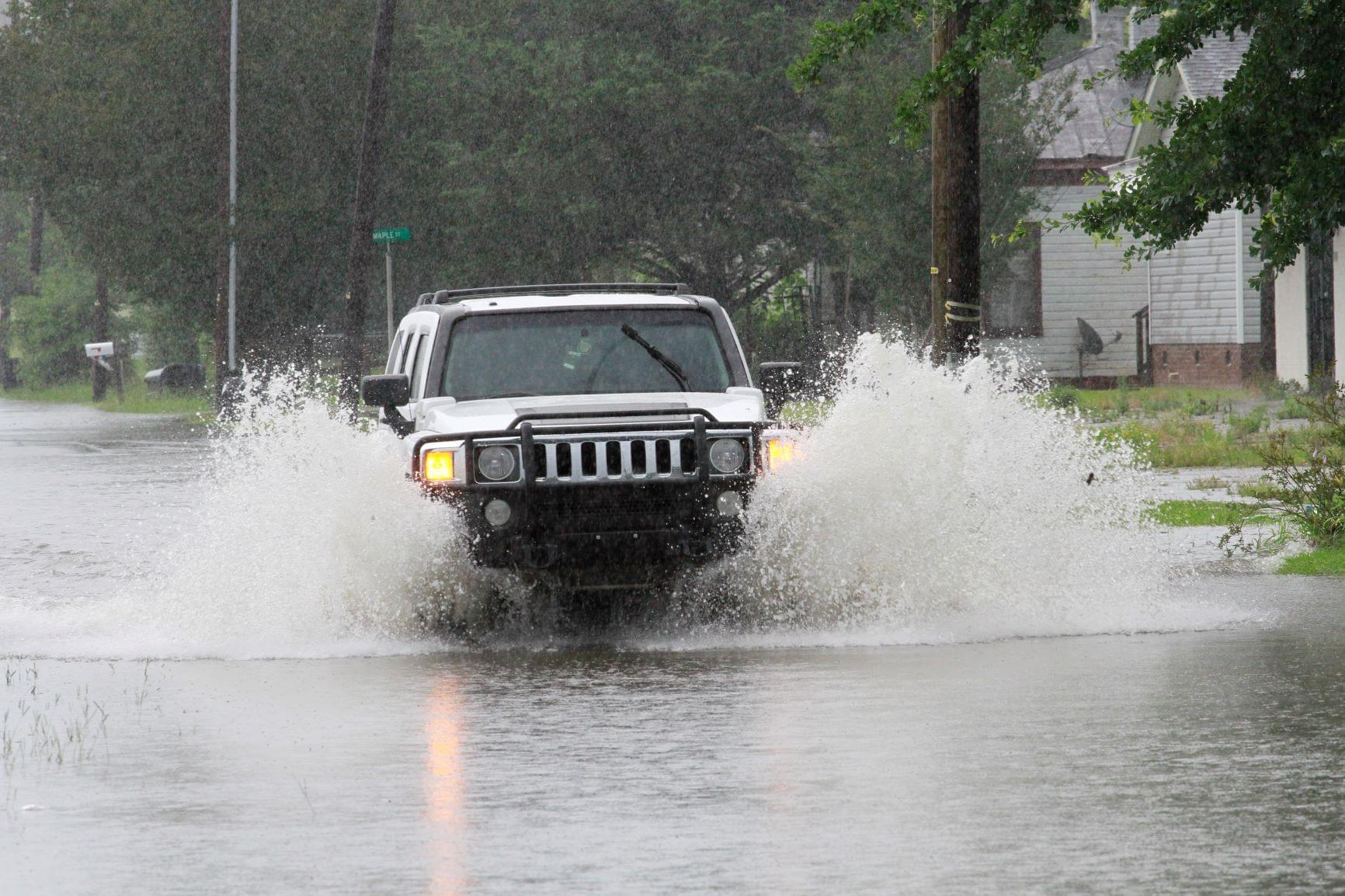 Flooded Roads Slow Travel In Southern Wayne County (PHOTOS)