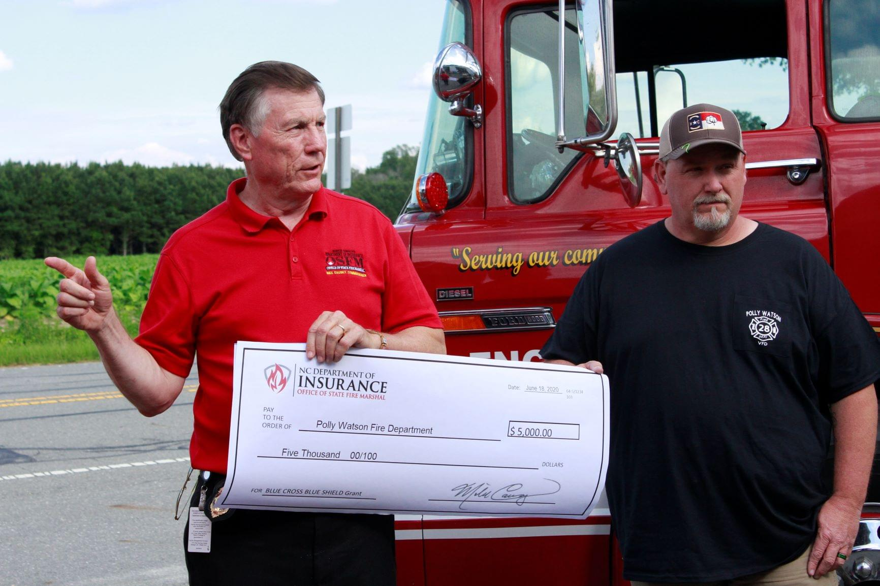 Grant Presented To Polly Watson F.D. (PHOTO GALLERY)