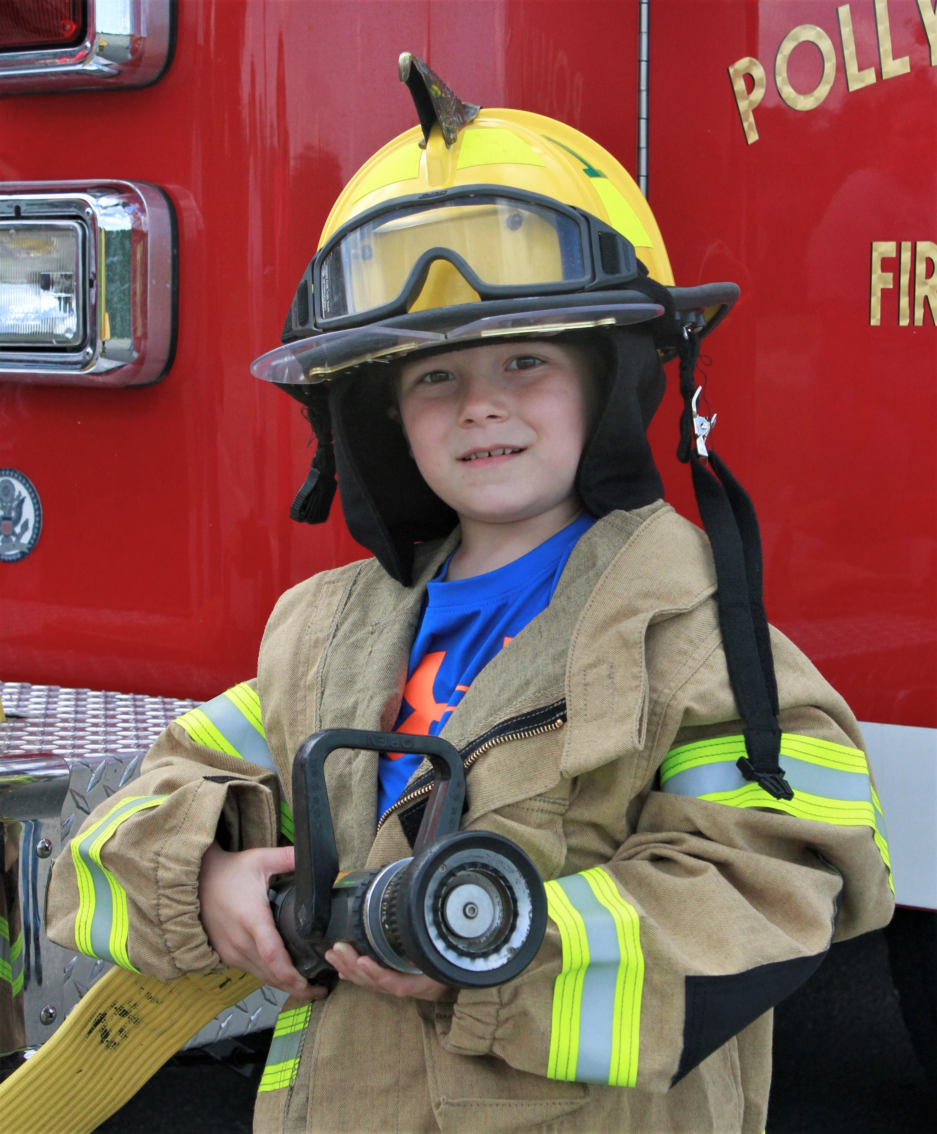 PIC OF THE DAY: Future Firefighter