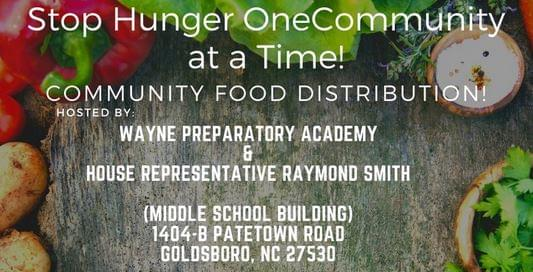 Community Food Distribution Being Held Saturday