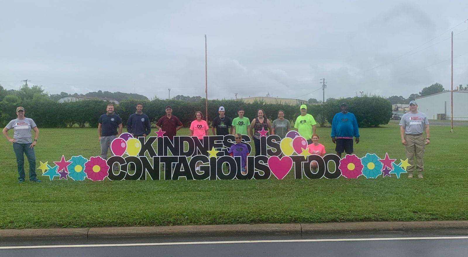 Hinson Starts Make A Difference Kindness Movement
