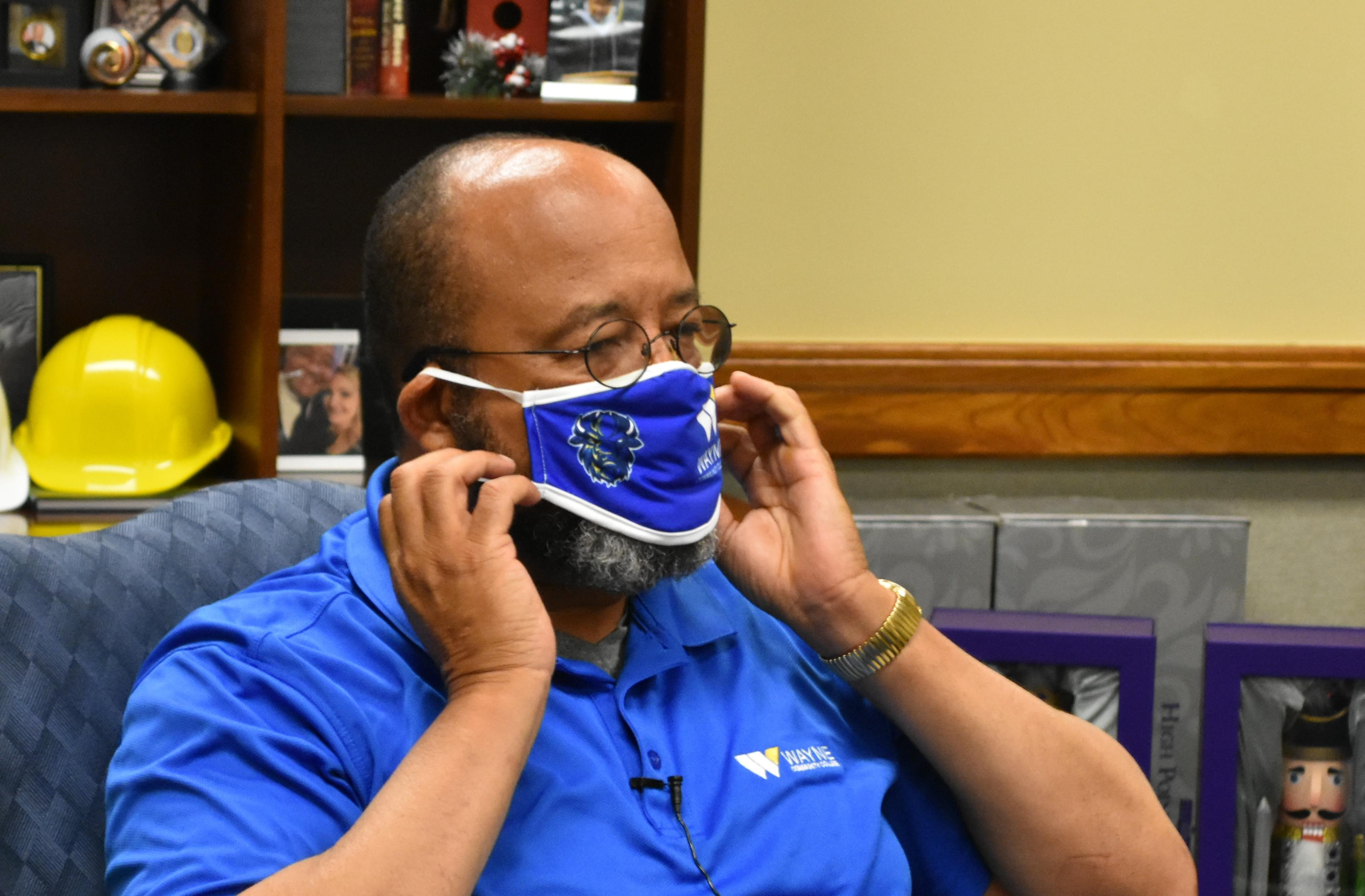 Wayne Community College Requiring Face Coverings
