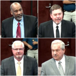 Board Meets District 4 Commissioner Candidates