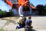 Saturday Fire Training In Grantham (PHOTO GALLERY)