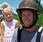 PIC OF THE DAY: Firefighting Dad Is Daughter's Hero