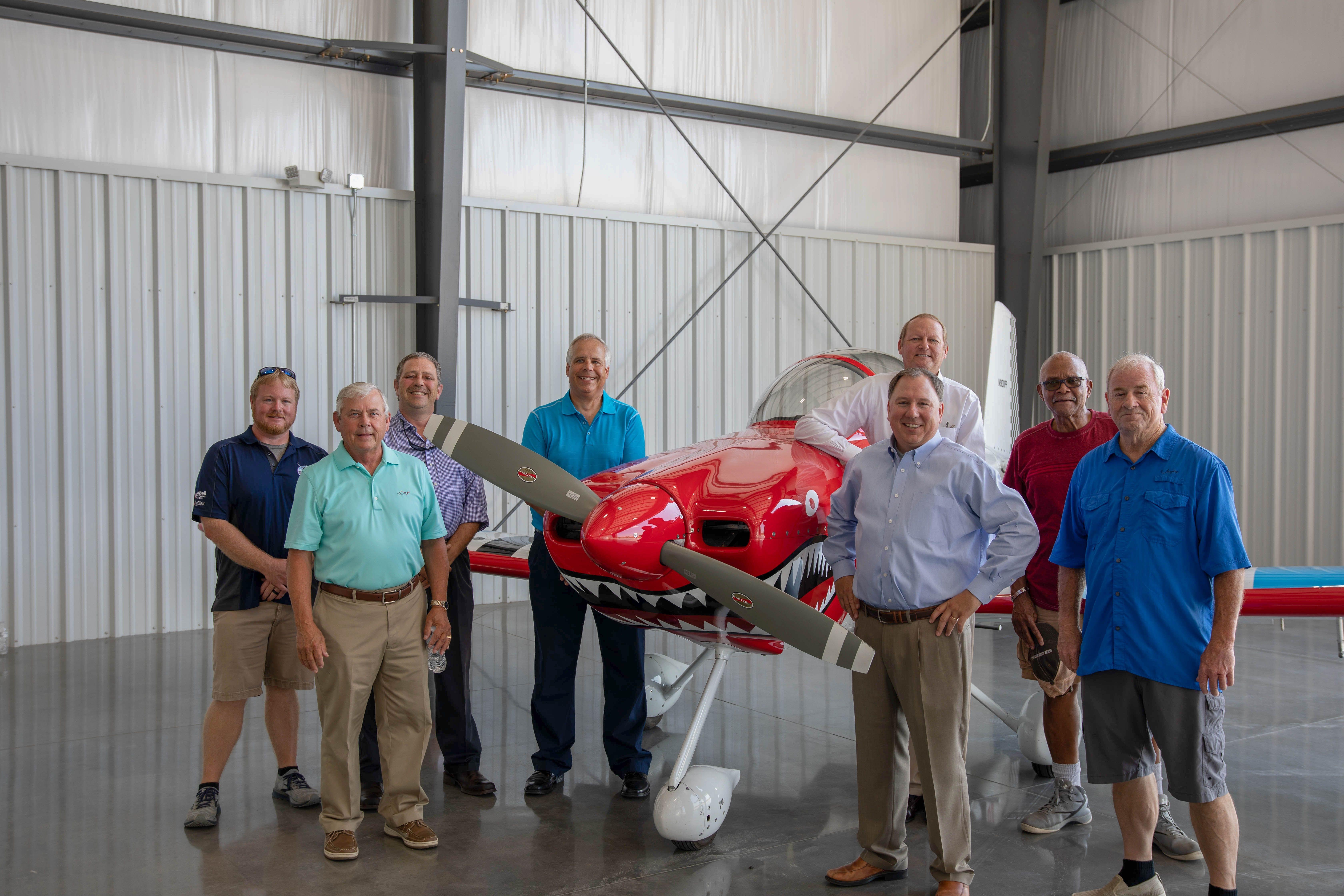 Wayne Executive Jetport Celebrates New Corporate Hangar