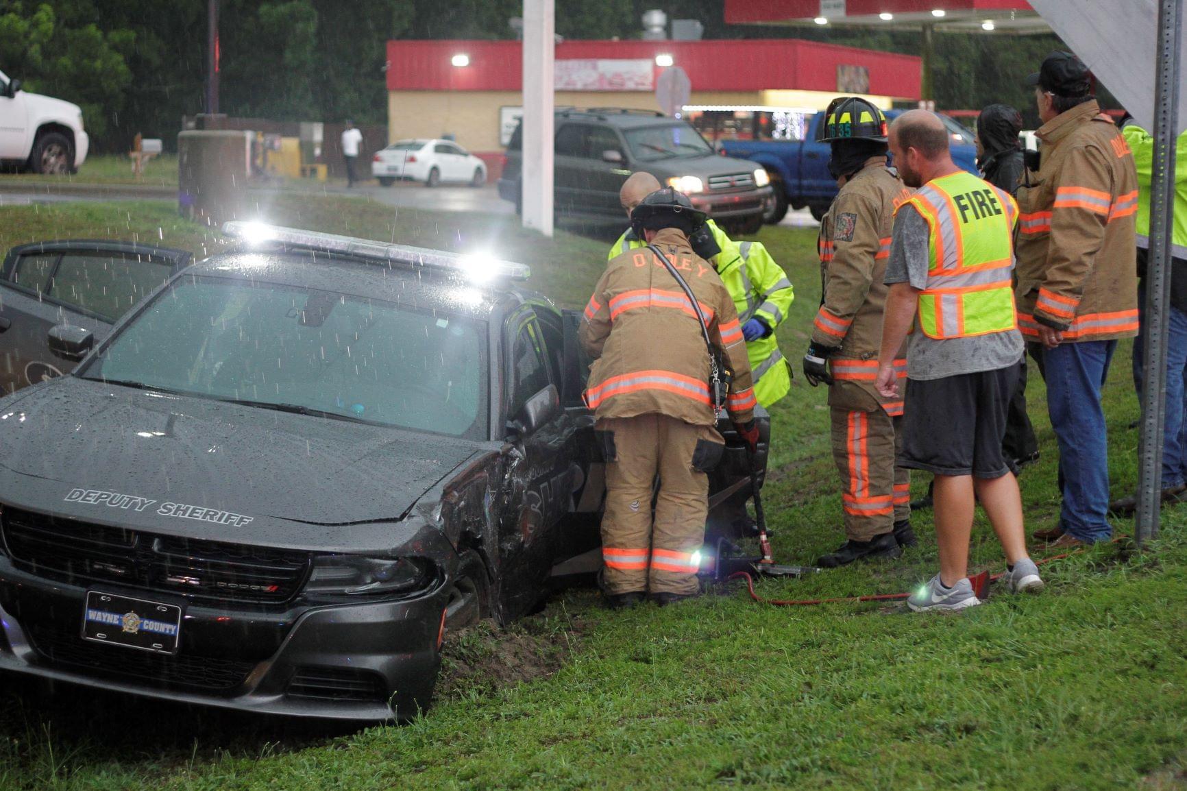 Deputy Involved In Crash On U.S. 117 Alt. (PHOTO GALLERY)