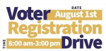 Voter Registration Drive This Saturday