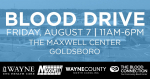 Community Blood Drive Planned For Aug. 7