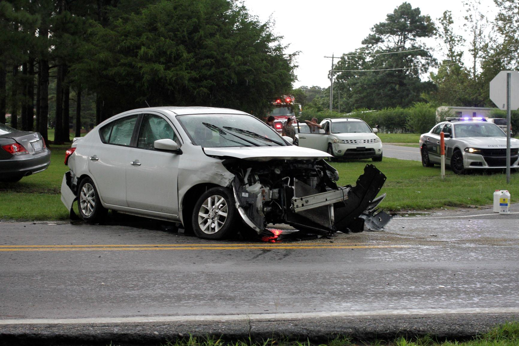Two Transported To Hospital After Vehicles Collide (PHOTOS)