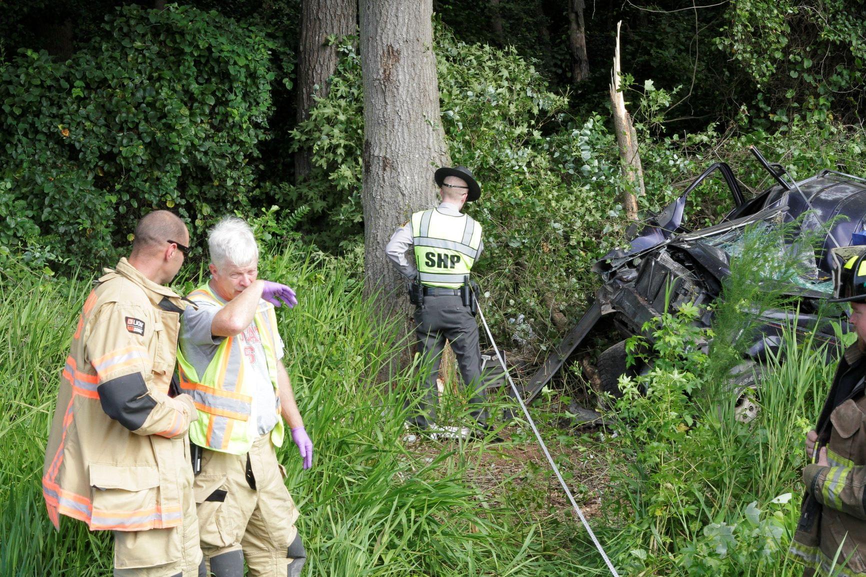 Car Crash On Old Grantham Road Leaves One Dead