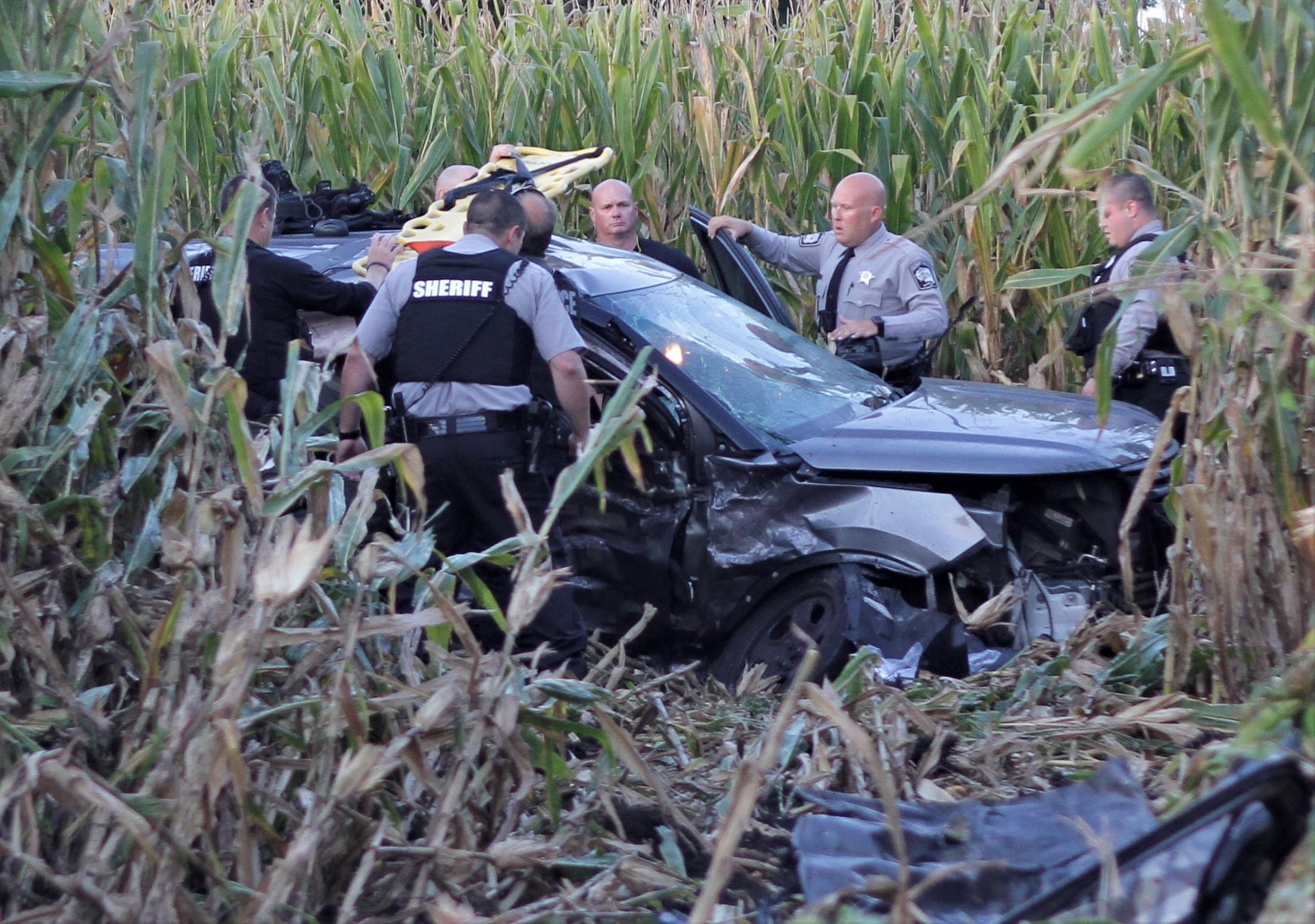 Highway Patrol Investigating Crash Involving Sheriff's Deputy