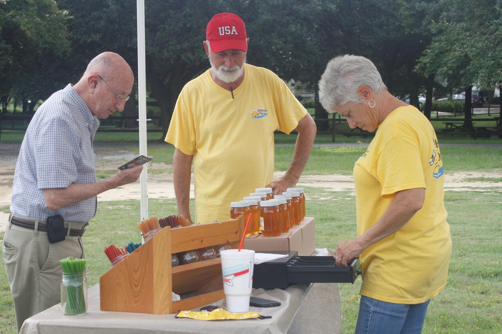 Beekeepers Sell Local Honey