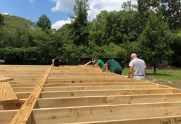 UMO Athletics Lends Helping Hand To Habitat For Humanity