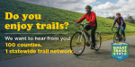 Public Input Needed On Draft Statewide Trail Network