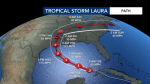 Hurricane Laura Forms, Little Effect To Eastern NC