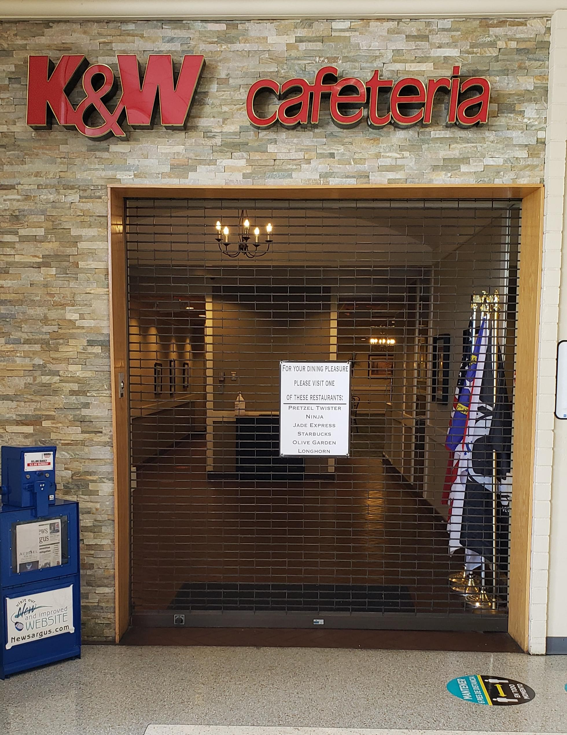 K&W Cafeterias File For Chapter 11 Bankruptcy Protection