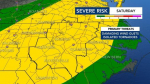 Weakening Laura Will Bring Severe Weather Risk To NC This Weekend
