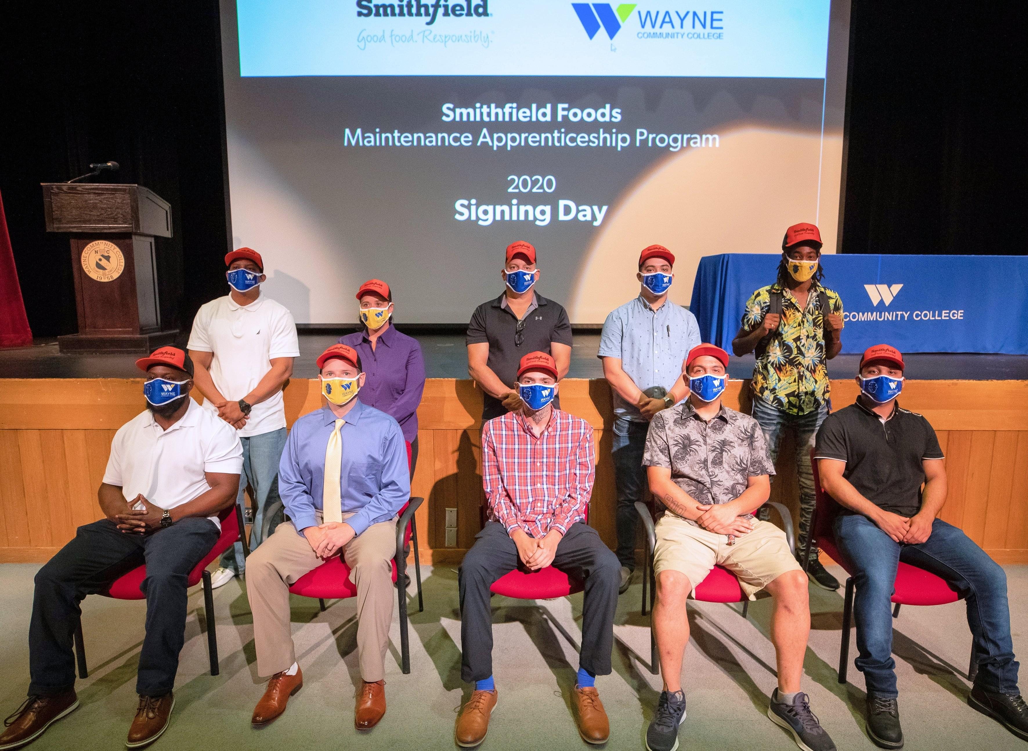 WCC, Smithfield Foods Sign Second Cohort of Apprentices