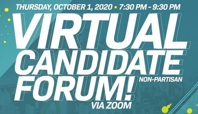 Virtual Non-Partisan Candidates Forum Being Held Thursday