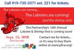 Break Out The Bibs: Lobster & Shrimp Are Back!