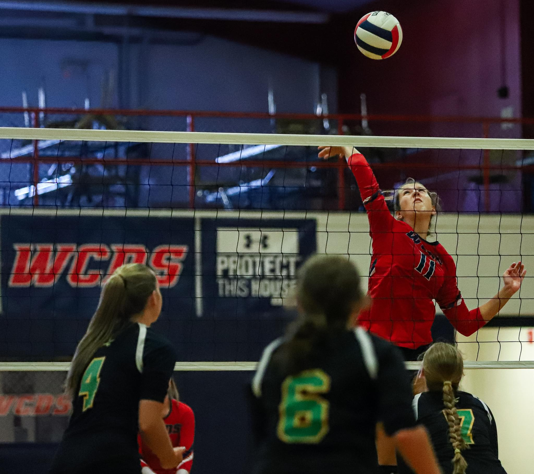 Wayne Country Day Wins Its Home Opener (PHOTO GALLERY)