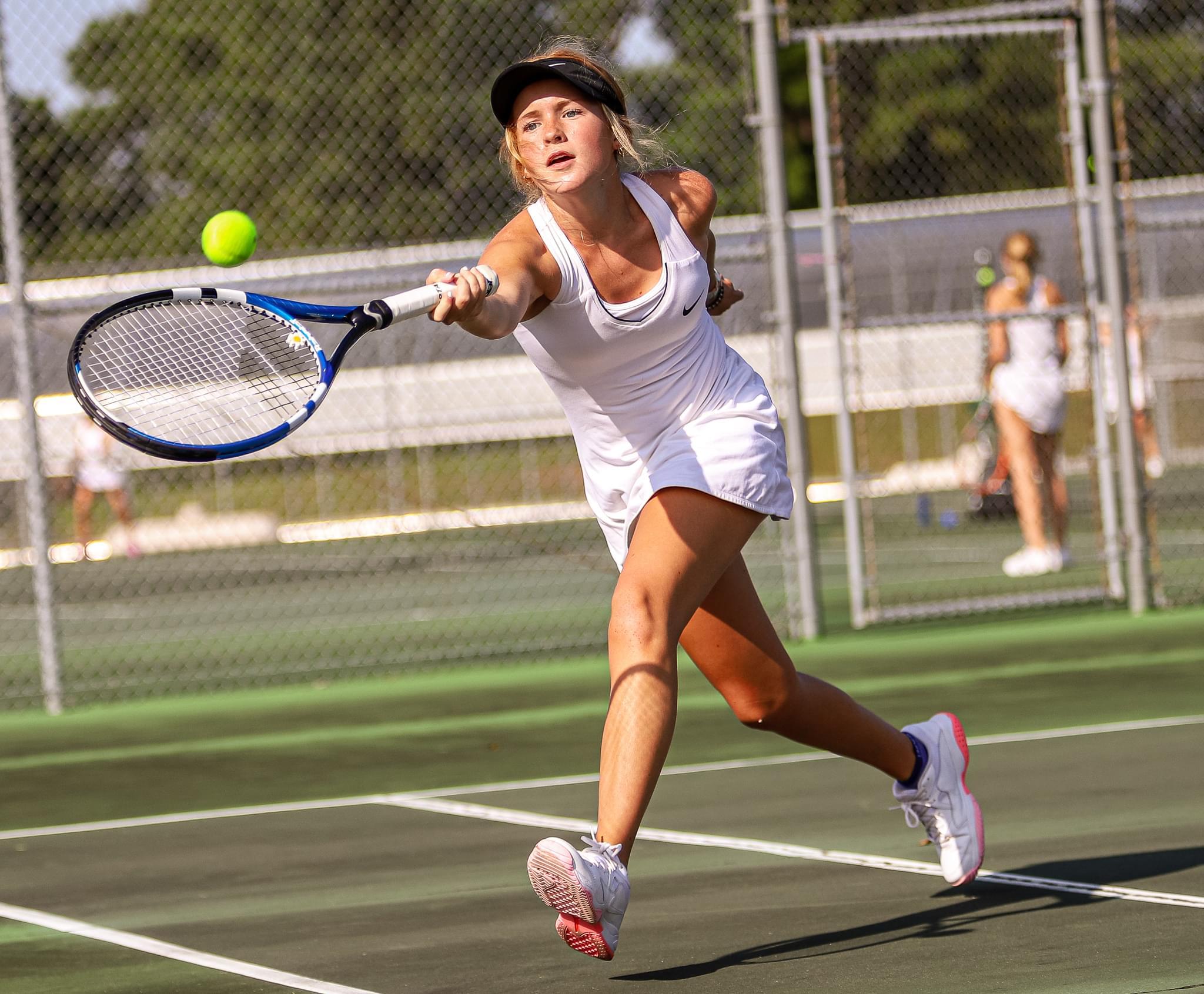 Wayne Country Day Girls' Tennis Team Opens Its Season (PHOTO GALLERY)