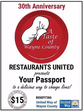 Pick Up Your Passport To Deliciousness!