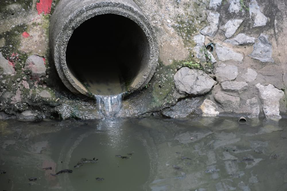 Mount Olive Reports Wastewater Spill