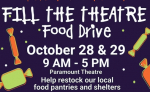 """Help """"Fill The Theatre"""" Today & Thursday"""