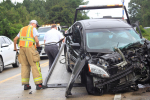 Head-On Crash Sends Drivers To The Hospital (PHOTO GALLERY)