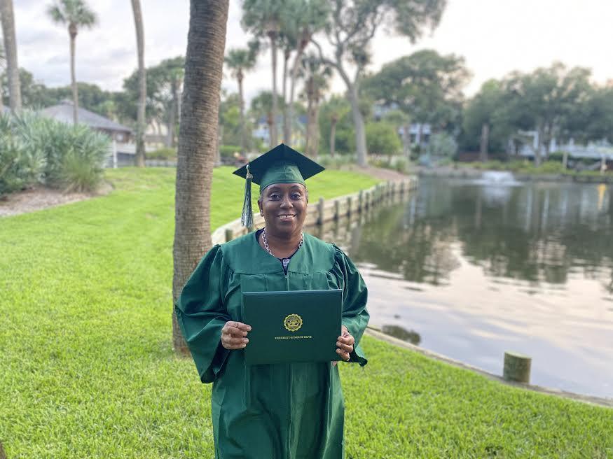 UMO's Virtual Graduation Is Fitting For Veronica Kirkland