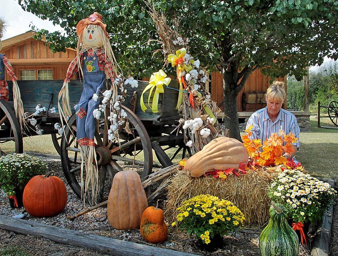 10 Years Ago Today: Decorating For Fall