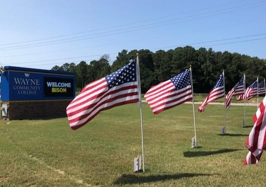 Goldsboro Rotary's Field Of Honor Opens Thursday At WCC