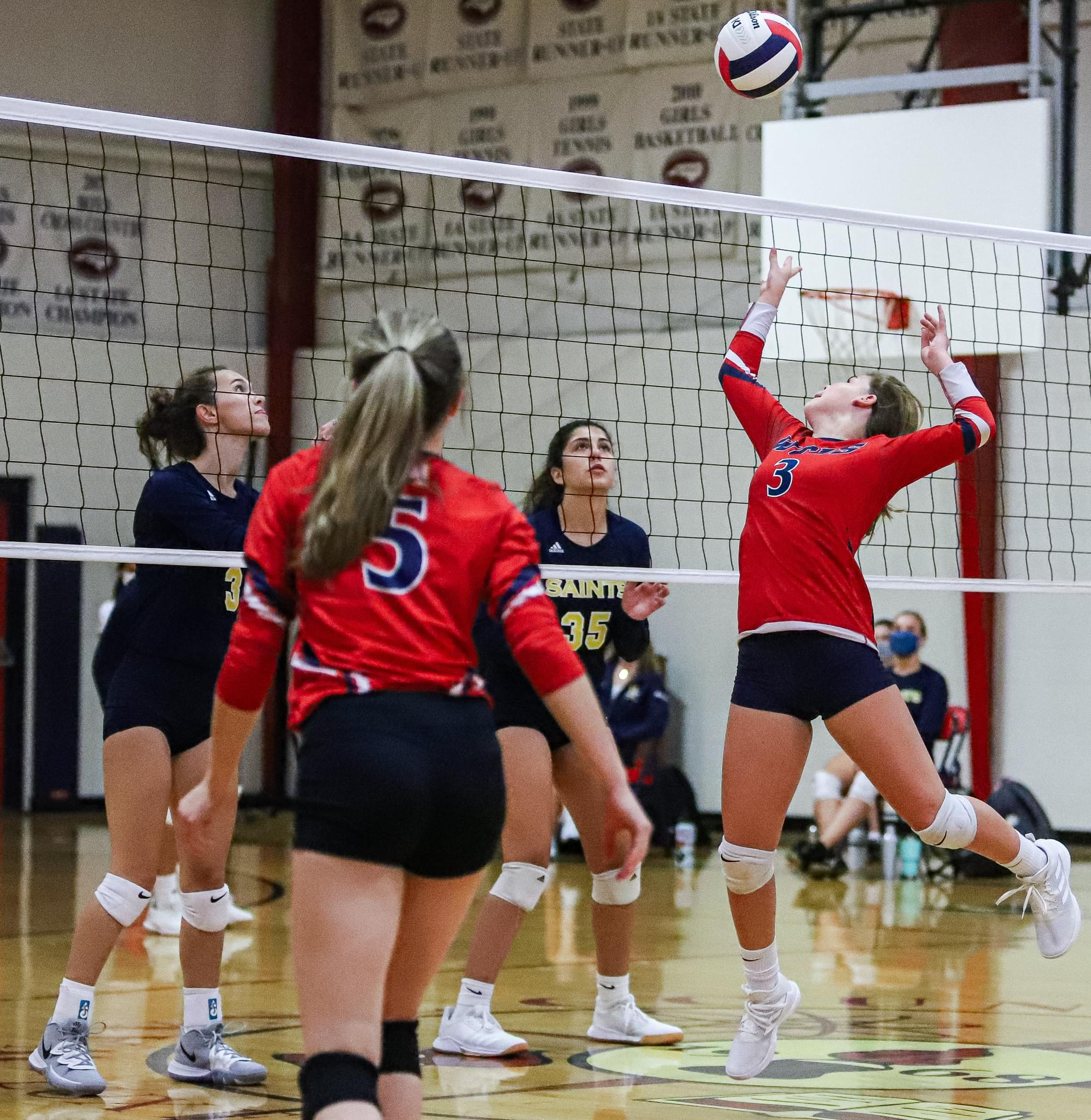 Chargers Fall To John Paul II In Volleyball (PHOTO GALLERY)