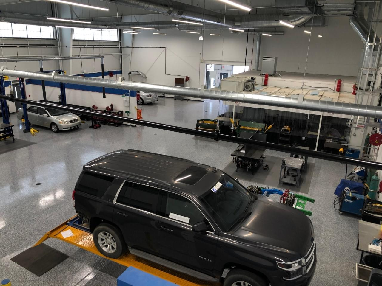 WCC's New Ash Building Prepares Automotive Students (PHOTO GALLERY)