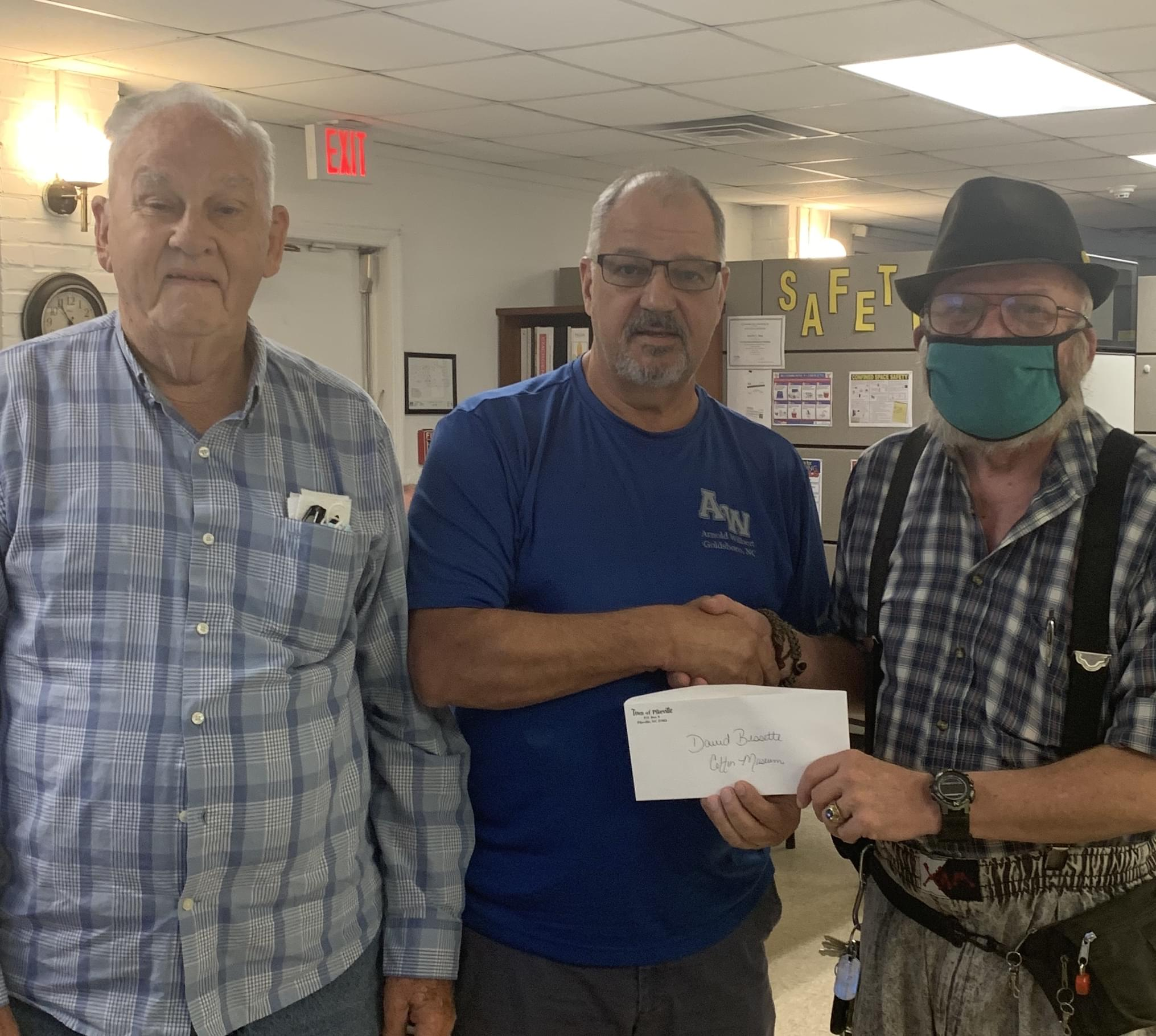 Donations Made To Pikeville Cotton Museum