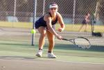 Wayne Country Day Girls' Tennis Defeats Greenfield On Senior Night