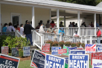 Early Voting Off To Busy Start In Wayne County