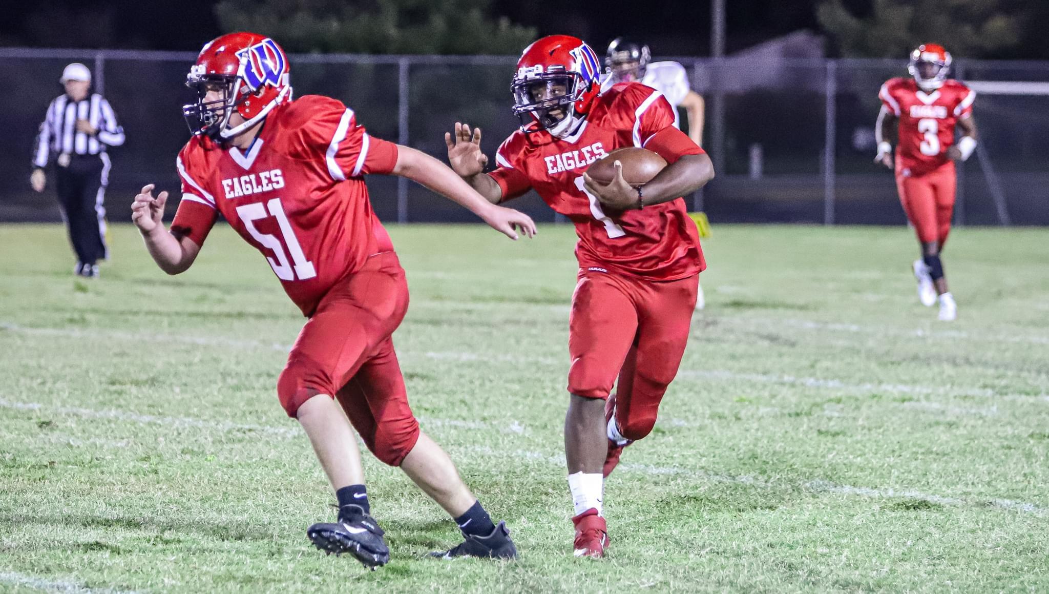 Football: Wayne Christian Rolls Over Lawrence Academy