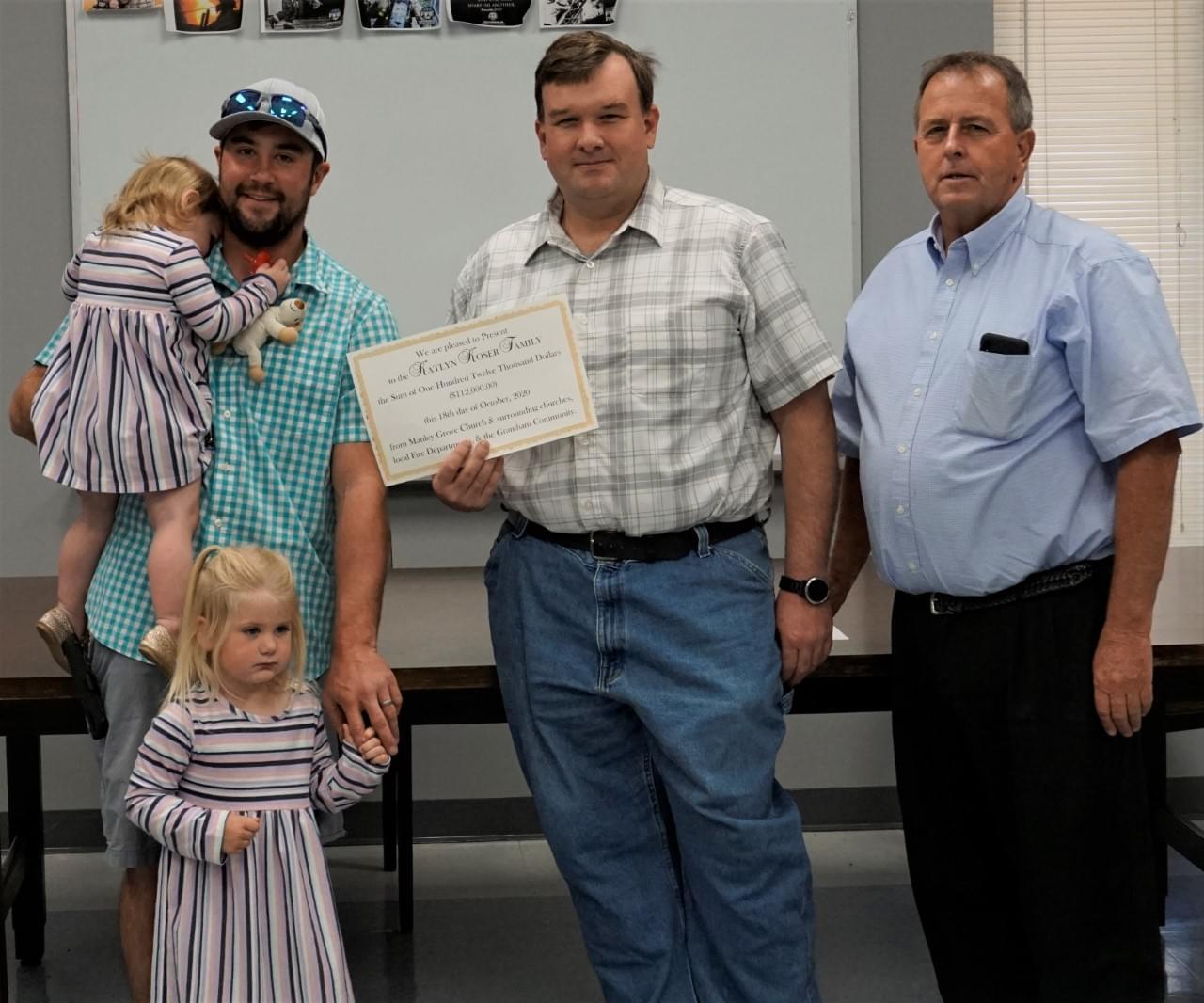 Fundraiser Brings In $112,000 For Koser Family
