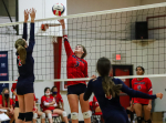 Volleyball: Wayne Country Day Eliminates Thales Academy In NCISAA 2A Playoffs (PHOTO GALLERY)