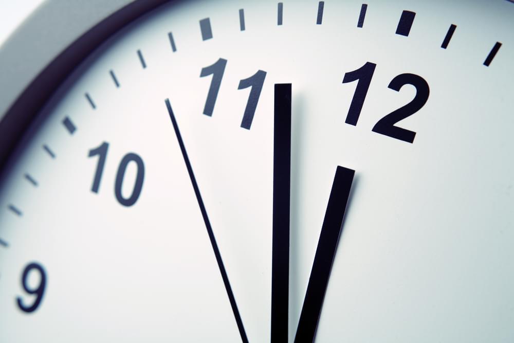 "Clocks ""Fall Back"" One Hour On Sunday"