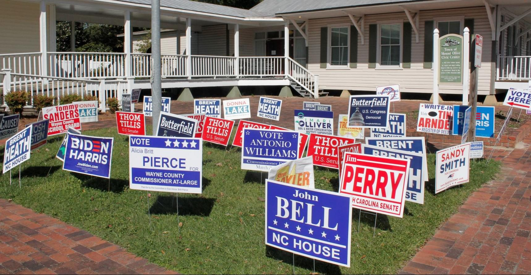 NCDOT: Election Signs Must be Removed