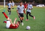 Strike Eagles Take On Raleigh International In Friendly Match (PHOTO GALLERY)